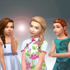 Girls Braids Hair Pack 2
