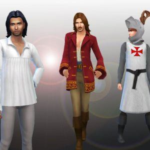 Male Medieval Pack