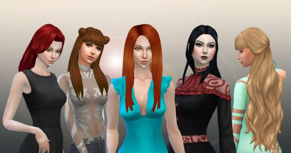 Long Hair Pack 7