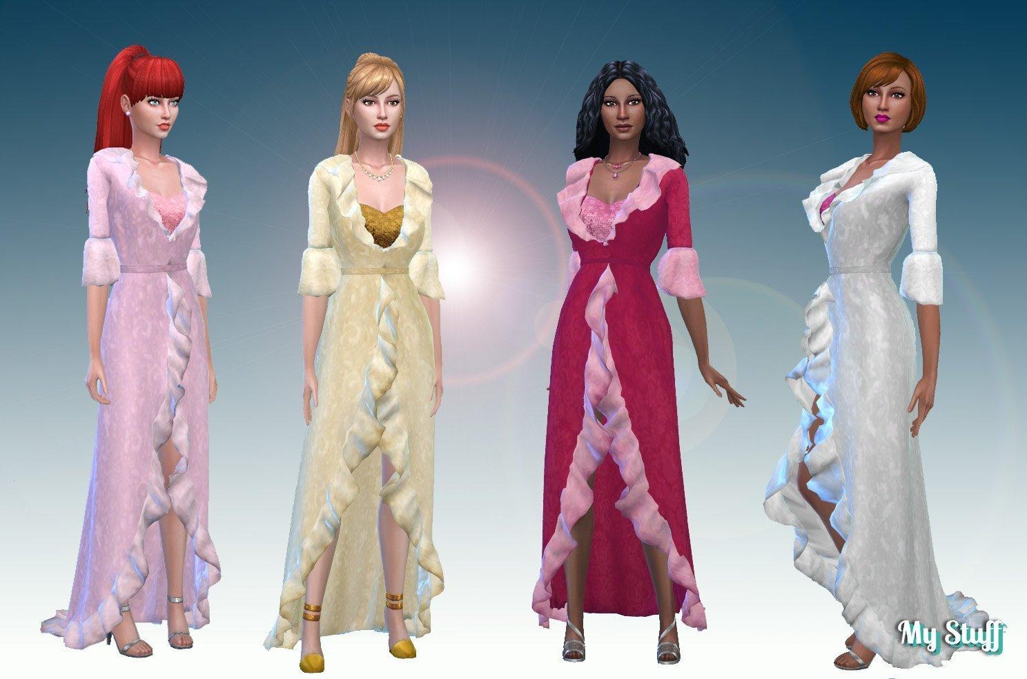 Angel Gown – My Stuff