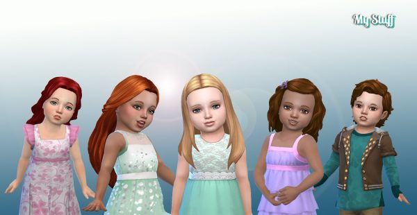 Toddlers Hair Pack 13