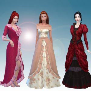 Female Historical Clothes Pack 2