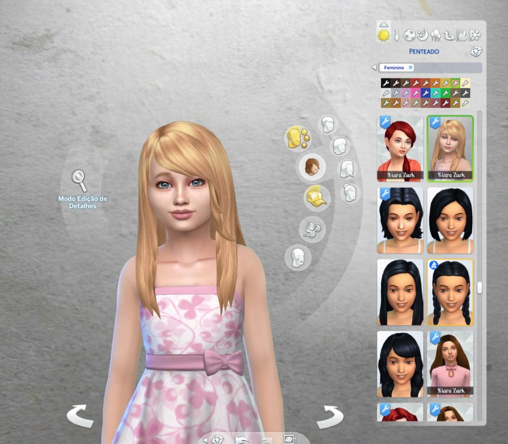 Stella Hairstyle for Girls