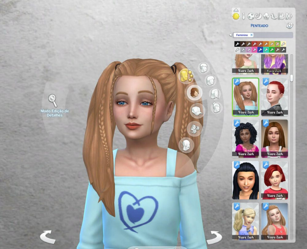 Harper Hairstyle for Girls